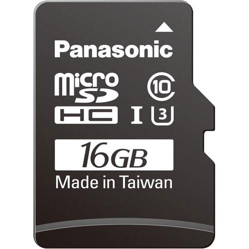 パナソニック microSDHCカード UHS-1 16GB×3