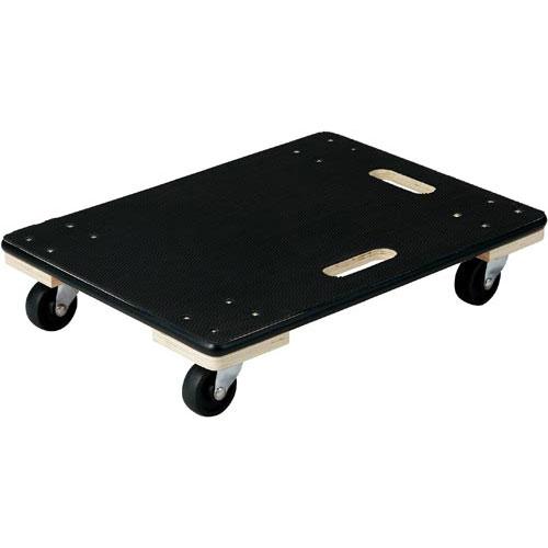 「カウコレ」プレミアム 荷物がすべりにくい木製平台車 中サイズ 3台