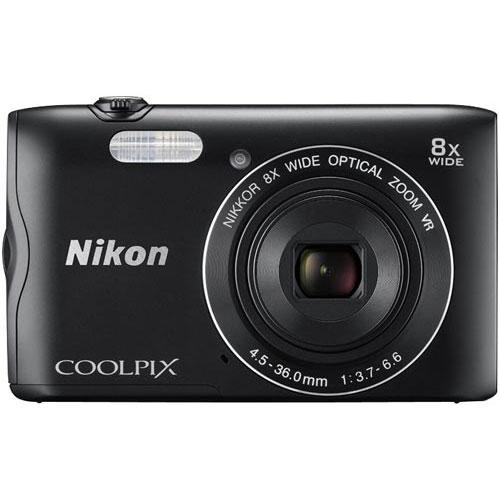 ニコン デジタルカメラ COOLPIX A300 ブラック
