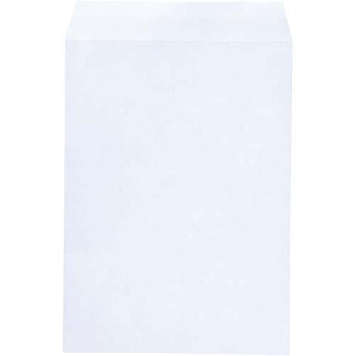 キングコーポレション 角2 地紋入撥水白封筒 テープ付き 100枚×5