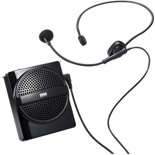サンワサプライ ポータブルハンズフリー拡声器 MM-SPAMP2