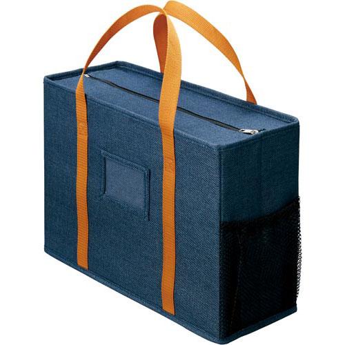 「カウコレ」プレミアム ミーティングバッグノートPCサイズ 紺10個