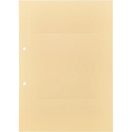 「カウコレ」プレミアム ラベルが剥がしやすい背付き板目表紙A4縦黄100組 | カウモール フォルダ ファイル フォルダー バインダー 文具 文房具 収納 整理 書類 収納 書類整理 仕分け ステーショナリー 事務用品 A4