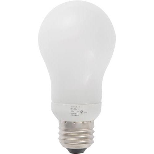 オームデンキ 電球型蛍光灯 A形60W 昼光色 2個入×10