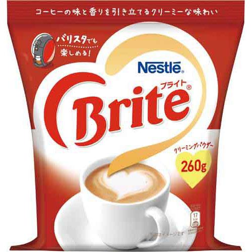 商品合計金額3000円 税込 以上送料無料 ネスレ日本 市販 ネスレブライト オープニング 大放出セール 260g袋 260g Nestle 袋 詰め替え用 コーヒー用ミルク