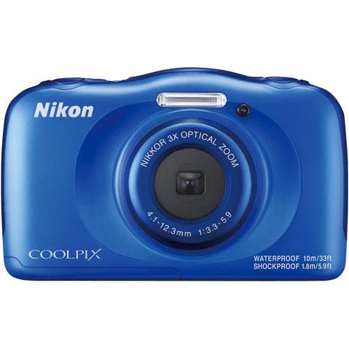ニコン 防水デジタルカメラ COOLPIX W100ブルー
