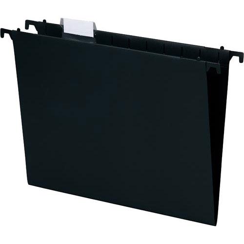 格安 商品合計金額3000円 税込 以上送料無料 エセルテ 可動式ハンギングフォルダ 返品交換不可 5枚 ブラック