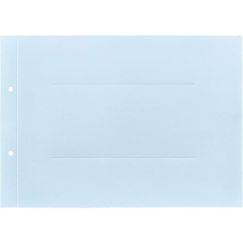 「カウコレ」プレミアム ラベルが剥がしやすい背付板目表紙A4横青100組