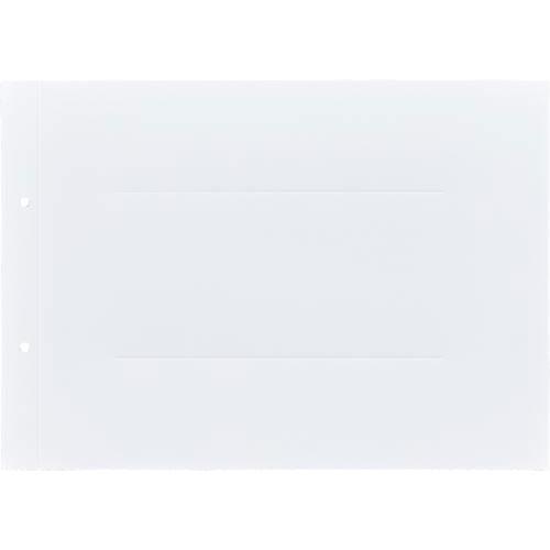 「カウコレ」プレミアム ラベルが剥がしやすい背付板目表紙A4横白100組