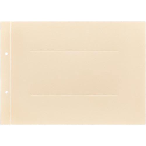 「カウコレ」プレミアム ラベルが剥がしやすい背付板目表紙A4横黄100組