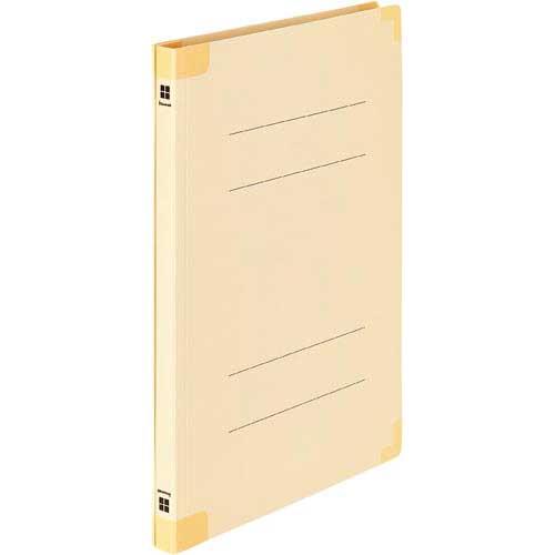 「カウコレ」プレミアム 四隅が傷みにくい背補強フラットファイル黄 200冊