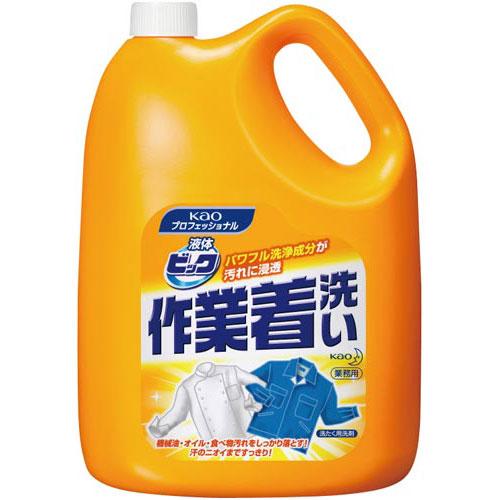 花王 液体ビック作業着洗い 4.5kg×4