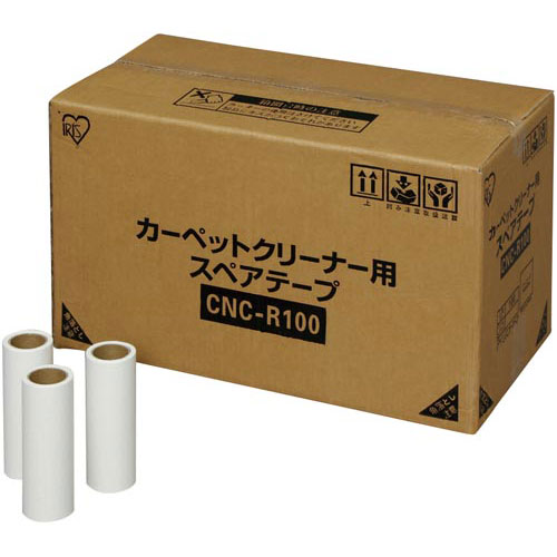 アイリスオーヤマ カーペットクリーナー スペアテープ 100巻入り