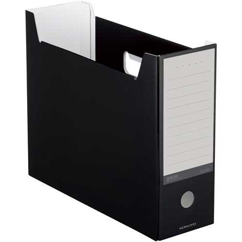 商品合計金額3000円 税込 完全送料無料 業界No.1 以上送料無料 コクヨ ファイルボックス NEOS 黒 A4 4個