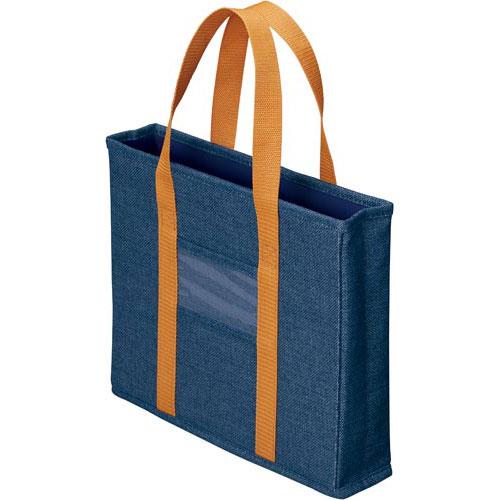 「カウコレ」プレミアム ミーティングバッグ引出し収納サイズスリム 紺10個
