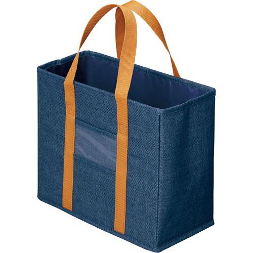 「カウコレ」プレミアム ミーティングバッグ引出し収納サイズ 紺10個