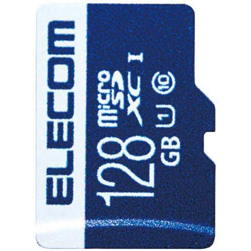 エレコム MicroSDXCカード UHS-I 128GB
