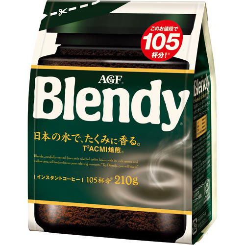 AGF ブレンディ インスタント袋 210g入×3