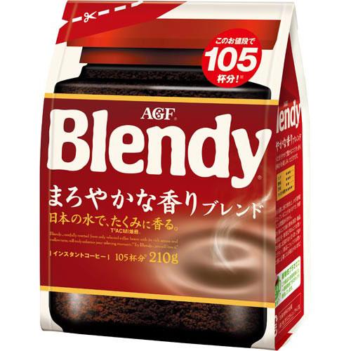 AGF ブレンディインスタント まろやかな香り210g×3