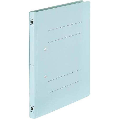 「カウコレ」プレミアム 書類が抜き取りやすいフラットファイルブルー100冊