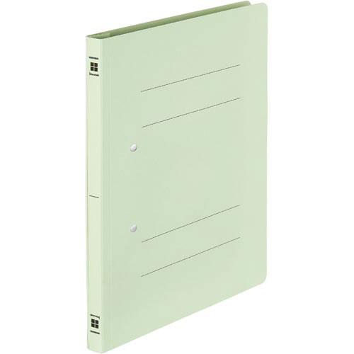 「カウコレ」プレミアム 書類が抜き取りやすいフラットファイルグリーン50冊