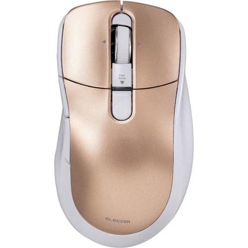 エレコム カウネット限定 無線レーザーマウス Pゴールド×3