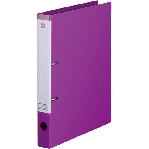 商品合計金額3000円 税込 以上送料無料 カウコレ 即納最大半額 プレミアム マニュアルDリングファイル背幅35mmA4縦 好評 赤紫