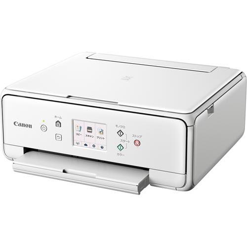キヤノン インク複合機 ピクサス TS6130WH ホワイト