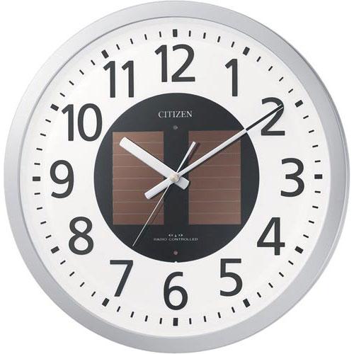リズム時計工業 シチズン エコライフM815 ソーラー電波時計