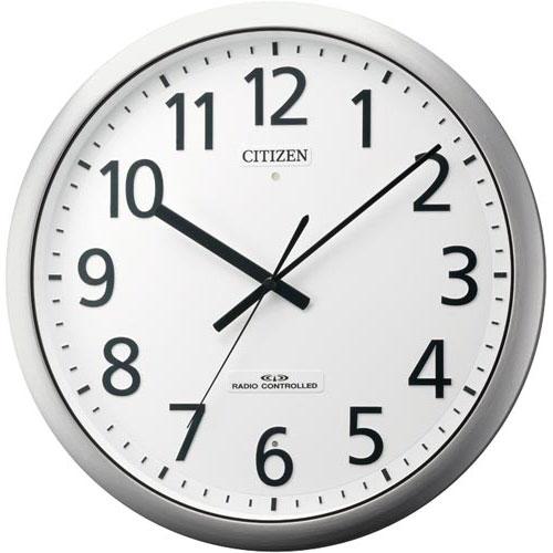 リズム時計工業 シチズン 強化防滴防塵型電波時計