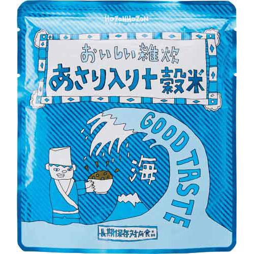 タカラショクヒン おいしい雑炊(あさり入り十穀米) 1箱(25食入)