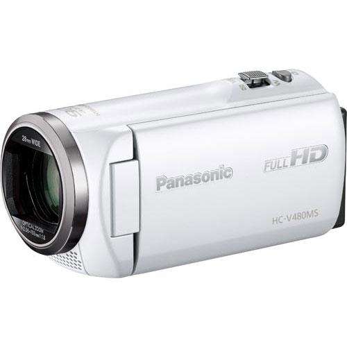パナソニック デジタルビデオカメラ HC-V480MS-W