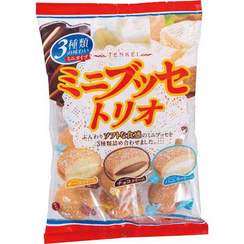天恵製菓 ミニブッセトリオ140g