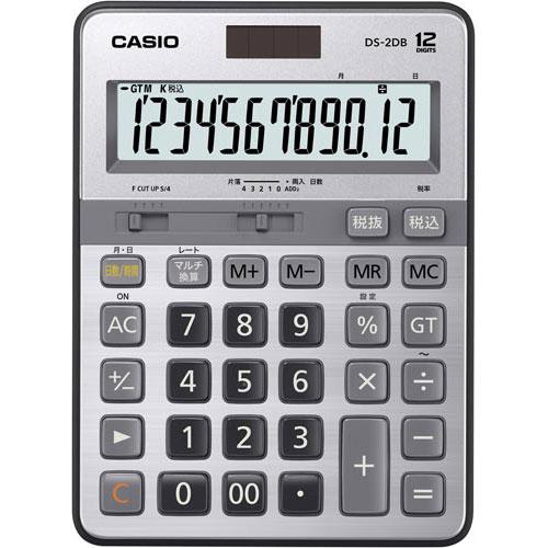カシオ 電卓 本格実務 デスク型 DS-2DB