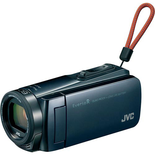 JVCケンウッド デジタルビデオカメラ GZ-R470 アイスグレー