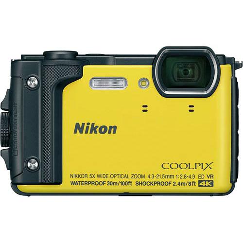 ニコン デジタルカメラ COOLPIX W300 イエロー