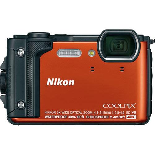 ニコン デジタルカメラ COOLPIX W300 オレンジ