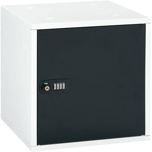 アスカ 組立式収納ボックス ブラック