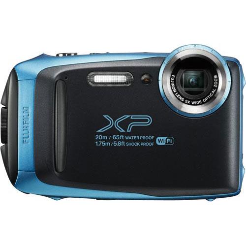 フジフイルム 防水防塵デジタルカメラ スカイブルー