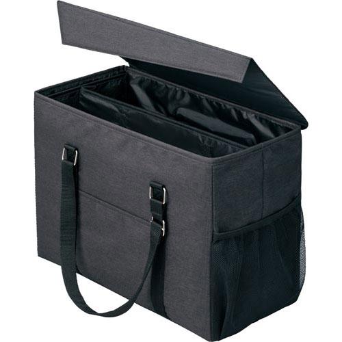 「カウコレ」プレミアム 外出にも使えるミーティングバッグラージ黒×黒10個