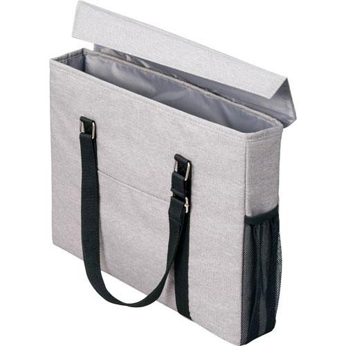 「カウコレ」プレミアム 外出にも使えるミーティングバッグスリム灰×灰 3個