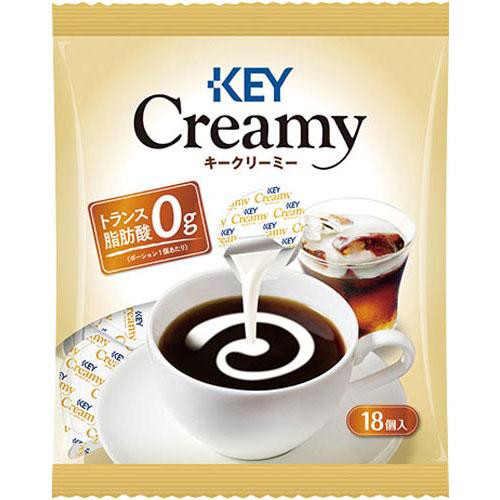 キーコーヒー クリーミーポーション18個
