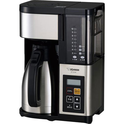 象印マホービン コーヒーメーカーEC-YS100XB 10杯用1個
