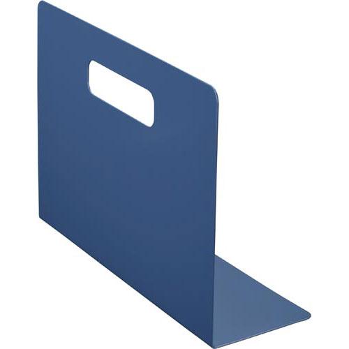 「カウコレ」プレミアム スタぴとブックエンドL型A4ぴったり横型紺2枚×8
