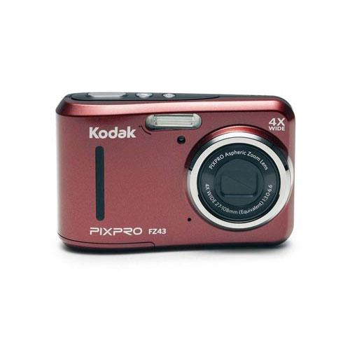 コダック 電池式コンパクトデジタルカメラ FZ43RD
