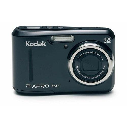 コダック 電池式コンパクトデジタルカメラ FZ43BK