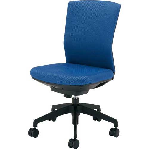 アイリスチトセ シンフォート回転椅子布張りブルー