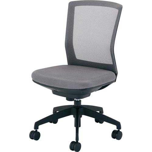 アイリスチトセ シンフォート回転椅子メッシュグレー