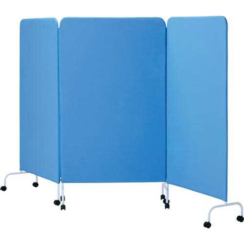 カウネット シンプルパネルN3連 ブルー