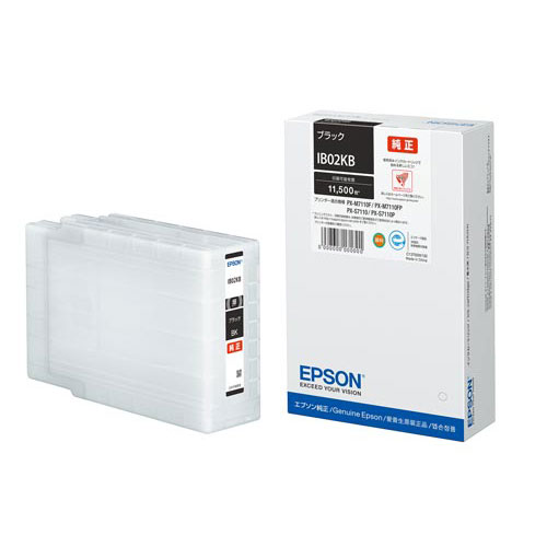 エプソン 純正インク IB02KB ブラック